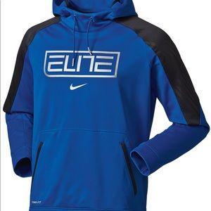 Nike Blue Elite Basketball Hoodie Men's pullover